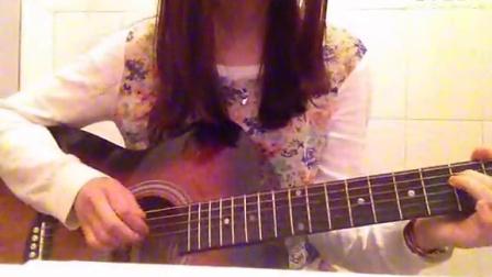 女生吉他弹唱 五月天 拥抱