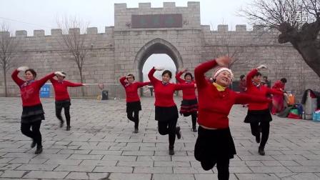 齐鲁第一古村,小金鱼广场舞美丽中国年