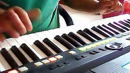 雅马哈电子琴S650演奏   拍手歌