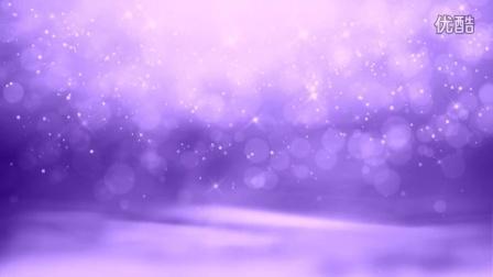 LED 0000 紫色粒子背景视频素材