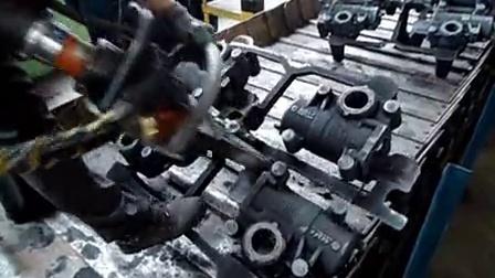 汽配厂应用-浇冒口分离器演示视频07