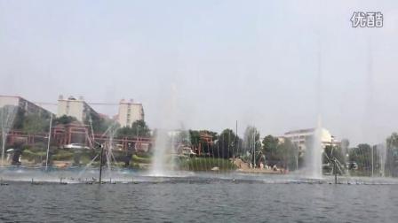 荆门生态运动公园喷泉