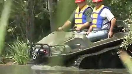 水陆两用车-Argo 水灾抢险