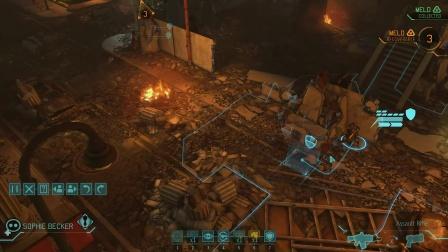 XCOM: Enemy Within, 第四期,飞碟坠毁任务。