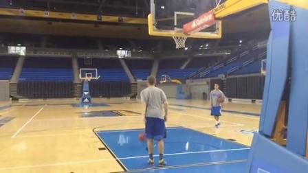 Bryce Alford trick shot
