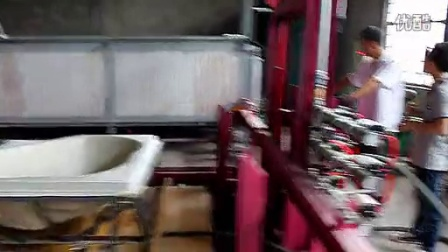 Automatic forming machine for SPA