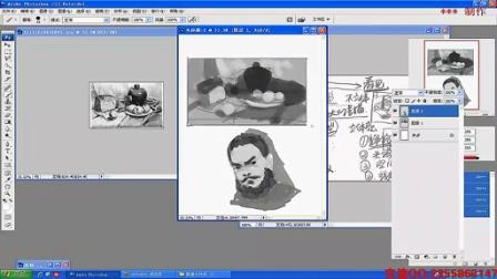 【素描的任务】名动漫原画插画视频教程系列(流畅)