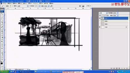 【透视、空间关系】名动漫原画插画视频教程系列