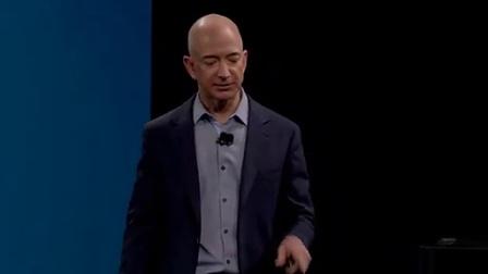 Amazon Press Conference- Jeff Bezos introduces Fire phone