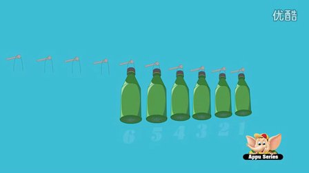 【老文头英文儿歌】Ten Green Bottles