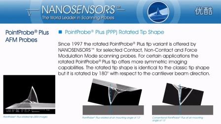 视频介绍 - PointProbePlus原子力显微镜探针 - NANOSENSORS™