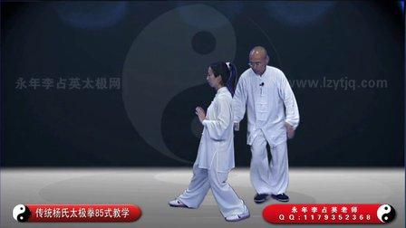 经典 传统杨氏太极拳教学(2) 永年李占英