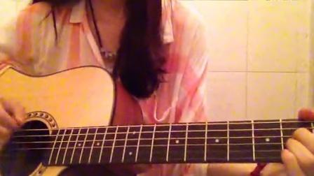 一个像夏天一个像秋天 女生吉他弹唱