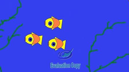 电脑动画《深海鱼群》