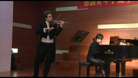 Mozart Sonate KV 301莫扎特奏鸣曲  小提琴王子 杰拉德 麦思纳