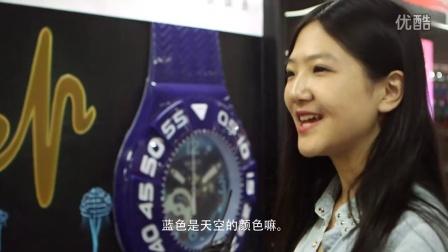 2014申通德高Swatch上海地铁创意媒体广告