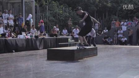 g-shock 硬碰硬AM滑板比赛