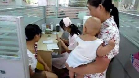 宝宝打预防针4