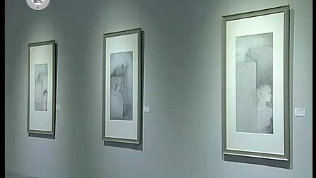再东方张译丹段传峰国画艺术展在河南省美术馆开展