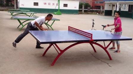 爷爷在浙江打品乓球