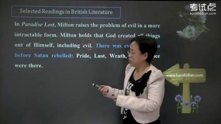 王守仁《英国文学选读》公开课(一)