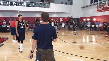 team usa training camp splash brothers