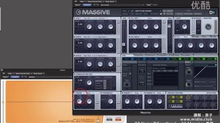 03.Noise 及 Feedback 功能介紹 - NI Massive 視頻教程
