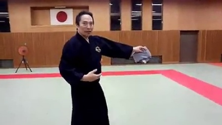 【日本の古武道】秘伝公開(動画00:27)
