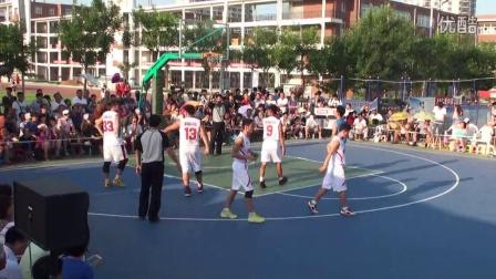 """00005-2014蓬莱市第八届""""渤海燃气杯""""军民篮球赛"""