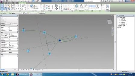 中建海峡-杨振钦-Revit参数化树形网架结构
