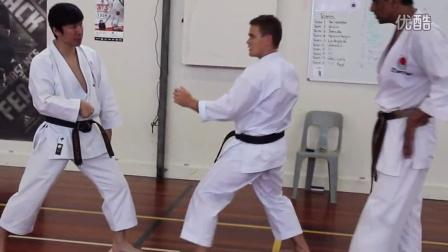 中達也師範 2014新西兰 組手4