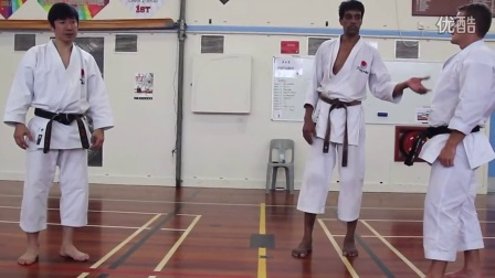 中達也師範 2014新西兰 組手3