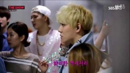 140805 The Show 블락비(Block B) 더쇼파인더