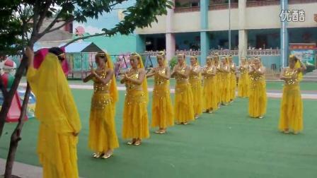 FILE0077新泰市龙廷镇全民健身广场舞大赛排练现场土门丽人舞蹈队