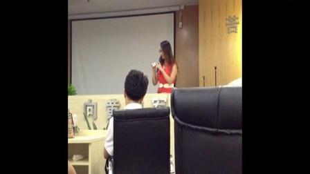 南京物联传感技术有限公司第五届代理商培训大会代理商激情演讲
