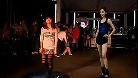 户外大型体感互动体验 与Angelababy一起跳舞 坠落天使 标清