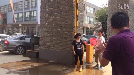 #冰桶挑战#铁盾篇--持续第三天--美女君君挑战成功!