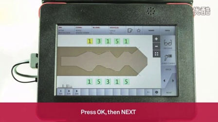 意大利开灵 数控钥匙机 Keyline 994 Laser | 解码和加工汽车镭射钥匙