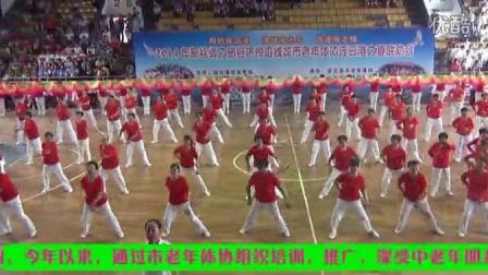 446  、军港之夜   连云区武术协会柔乐球分会踏歌表演
