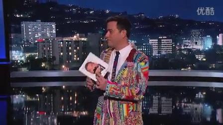彩虹织机新闻——Jimmy Kimmel脱口秀上的彩虹织机衣服