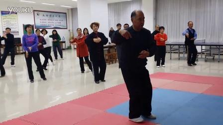 5.单鞭(招远太极拳协会杨应建会长混元24式太极拳教学)