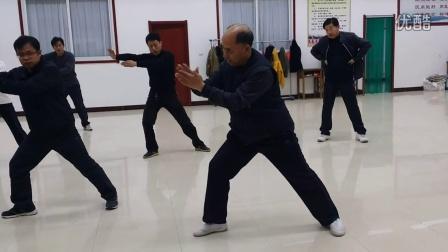 4.六封四闭(招远太极拳协会杨应建会长混元24式太极拳教学)