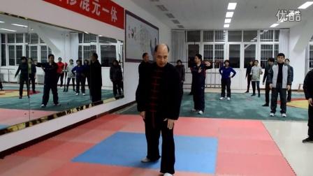 19.闪通背(招远太极拳协会杨应建会长混元24式太极拳教学)