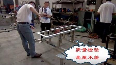 不锈钢食堂餐桌四人座六人座生产批发