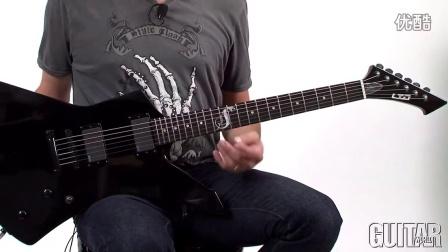 ESP LTD James Hetfield Snakebyte - Features