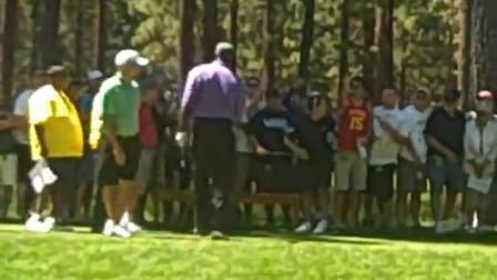 See if Michael Jordan wins bet at 2011 July Lake Tahoe American Century golf eve