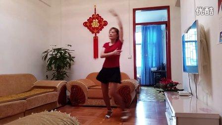 丽丽学跳广场舞 爱你情歌