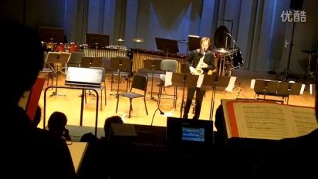 法国萨克斯演奏家菲斯巴赫Fisbach: 现代派作曲家Lauba《Worksong》