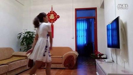 丽丽广场舞 学跳牵手观音