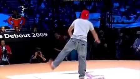 jd2009 popping 8进4 Gucchon  Kei vs Popping Hood  Gipsy Pop